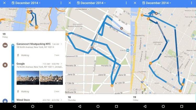 Google disponibiliza ferramenta no Google Maps que mostra histórico de onde você passou