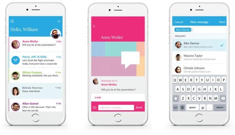 Microsoft apresenta o Send; uma ferramenta de mensagens curtas