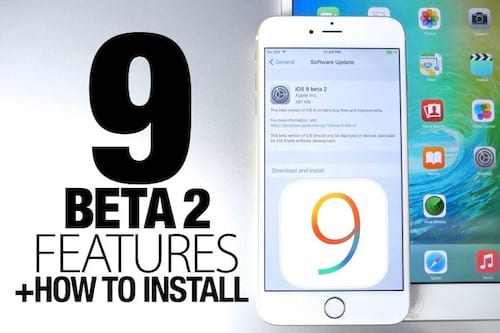 Apple libera segunda versão beta do iOS 9