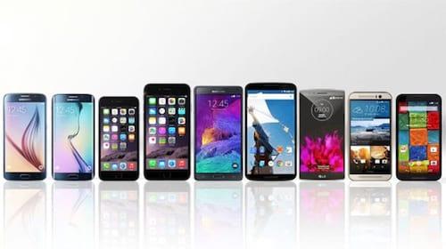 Top 5 de melhores smartphones 2015