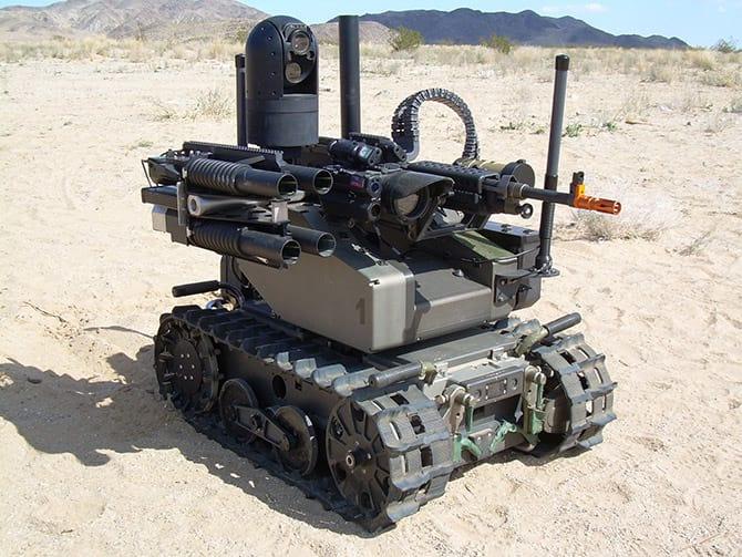 Cientistas alertam sobre ameaça de robôs armados no futuro