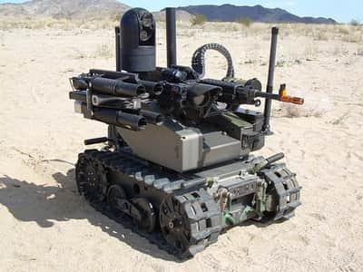 Cientistas alertam sobre amea�a de rob�s armados no futuro