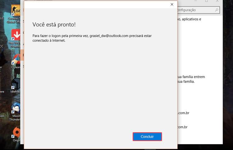 Como criar ou excluir um usuário no Windows 10?