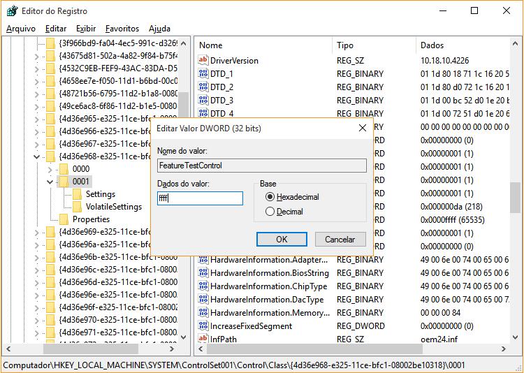 Solução para problema de brilho no Windows 10