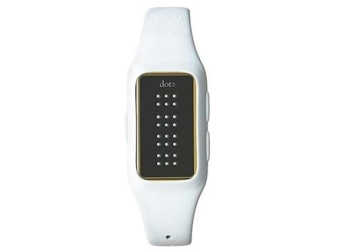 The Dot: o relógio inteligente desenvolvido para deficientes visuais