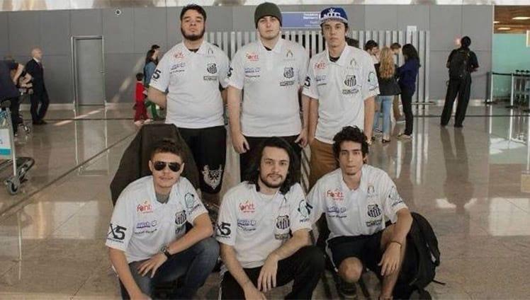 Equipe de e-sports anuncia parceria com Santos F. C.