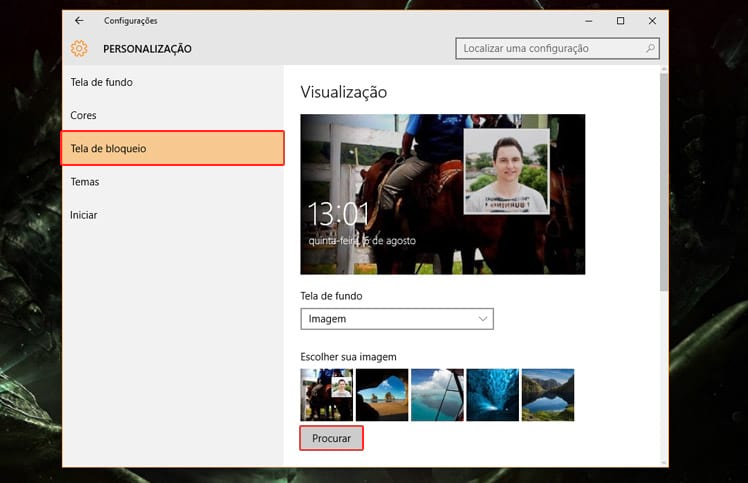 Como personalizar o Windows 10?