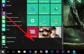 Como criar grupos de apps no menu iniciar do Windows 10?