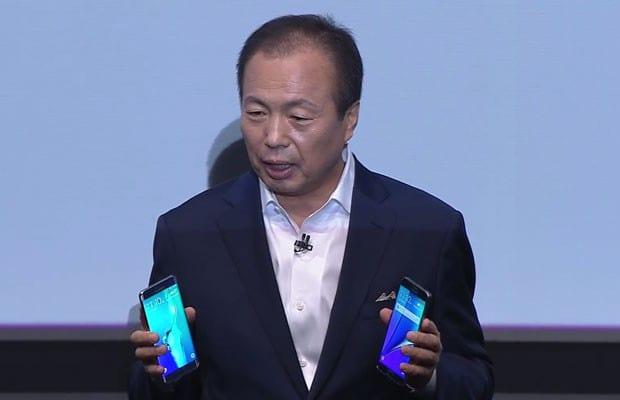 Samsung revela o seu Galaxy Note 5 e Galaxy S6 Edge+