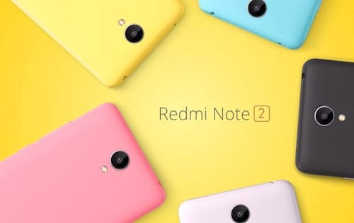 Xiaomi lança o seu Redmi Note 2