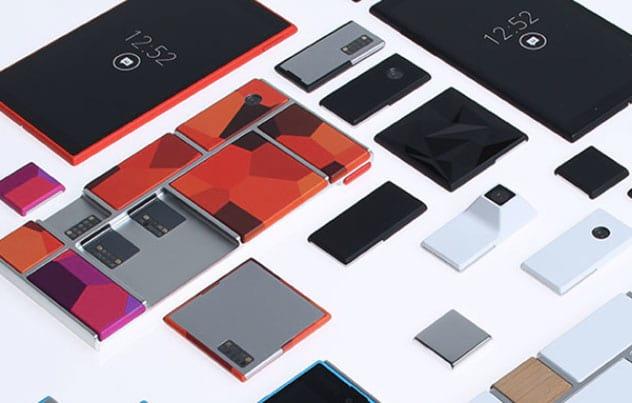 Smartphone desmontável do Google chegará somente no próximo ano