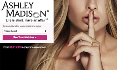 Dados de mais de 1 milh�o de usu�rios do Ashley Madison s�o divulgados