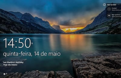 Como alterar a tela de bloqueio do Windows 10?