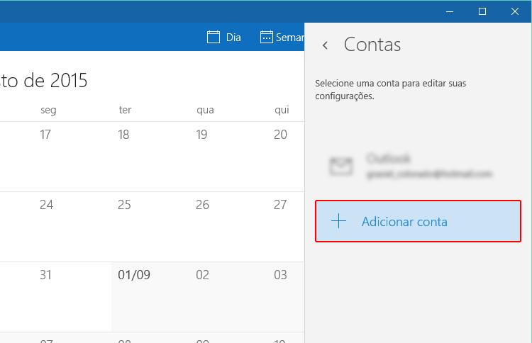 Como importar meu calendário do Google para o Windows 10?