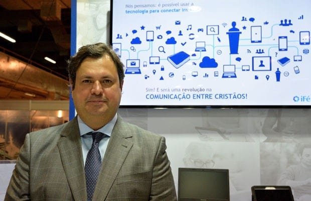 Julio Marcelino é um dos criadores do iFé.