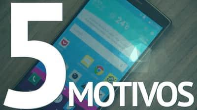 [Vídeo] 5 motivos para comprar um LG G4
