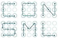 Desenhos gráficos de desbloqueio de tela não são confiáveis