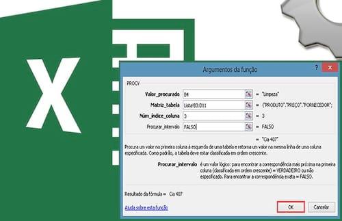 Função =Procv no Excel