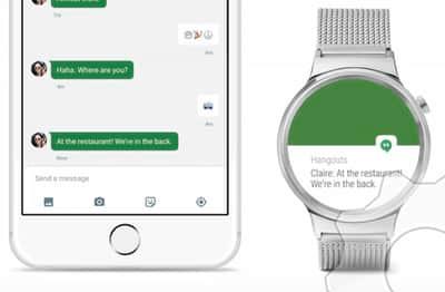 Rel�gio inteligente equipado com Android Wear agora funciona com iPhone