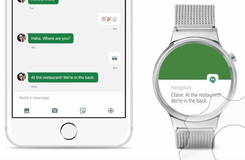 Relógio inteligente equipado com Android Wear agora funciona com iPhone