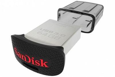 Pendrive 3.0 da SanDisk de 128 GB chega ao Brasil