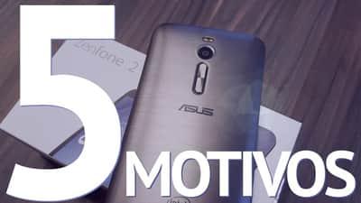 [V�deo] 5 motivos para comprar um Zenfone 2