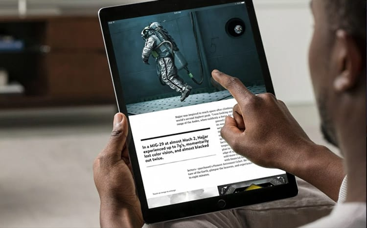 Apple anuncia iPad PRO