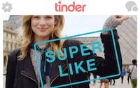 Tinder libera Super Like que exibe pretendente que usuário curtiu