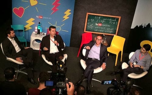 Rio de Janeiro irá abrigar YouTube Spaces