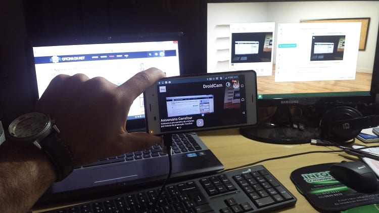 Como transformar seu smartphone em uma WebCam