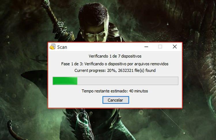 Como recuperar arquivos excluídos da lixeira?