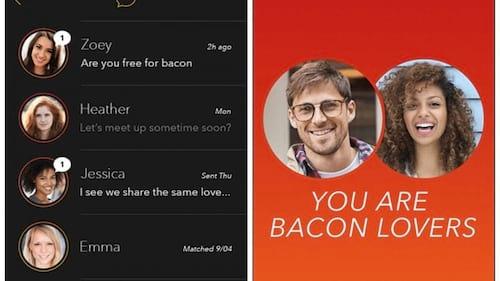 Novo aplicativo pretende juntar amantes de bacon