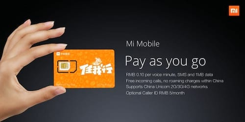 Xiaomi lança operadora na China
