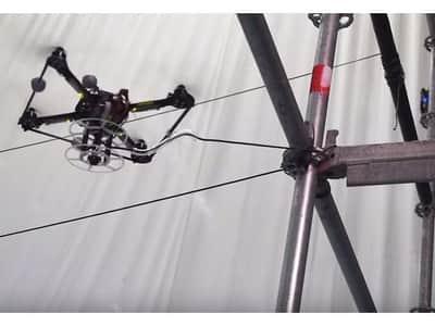 Drones s�o respons�veis por constru��o de ponte