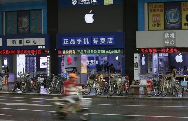 Lojas falsas da Apple são sucesso na China