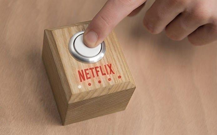 Conheça o botão da Netflix que prepara sala para filme