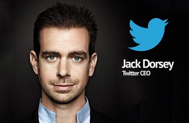Jack Dorsey é o novo CEO do Twitter