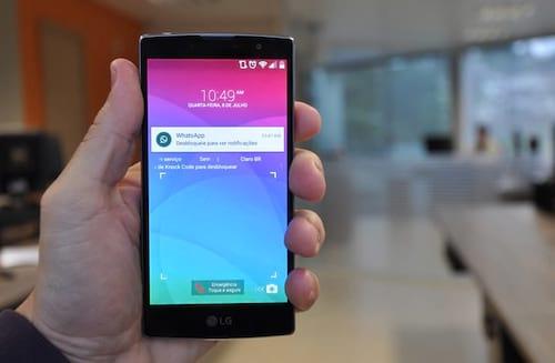 LG Leon, LG Prime Plus, LG Volt e LG Joy - Conheça essa linha barata da LG