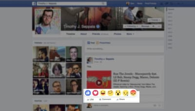 Facebook inicia os testes para alternativas ao bot�o curtir