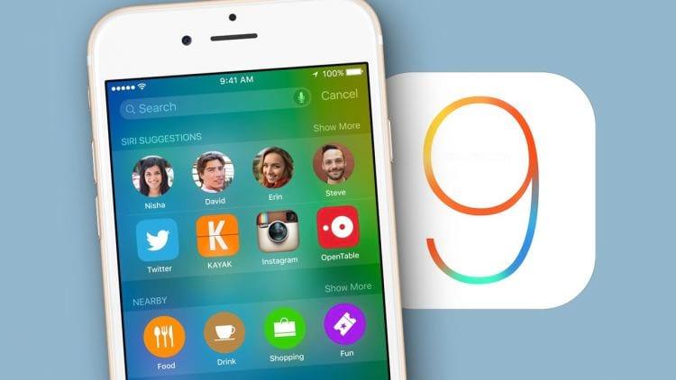 Apple afirma que iOS 9 já está presente em 57% dos seus dispositivos