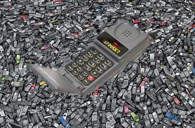 10 celulares que fizeram sucesso nos anos 90 e 2000