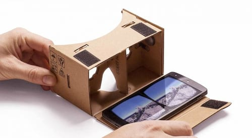 Google Cardboard recebe melhorias