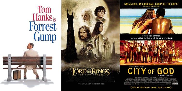 Os 250 melhores filmes segundo o IMDB no Netflix [ATUALIZADO]