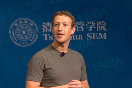 Mark Zuckerberg discursa em mandarim na China