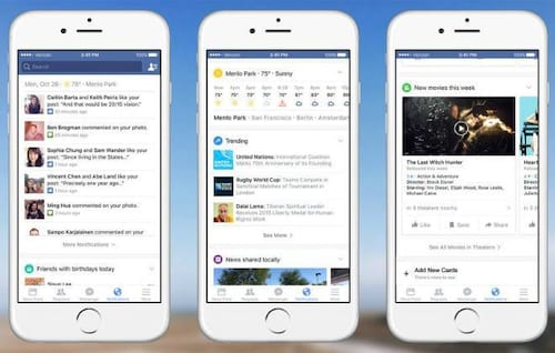 App do Facebook recebe mudanças na área de notificações