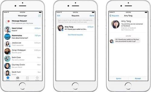 Messenger altera regras para receber mensagens de desconhecidos