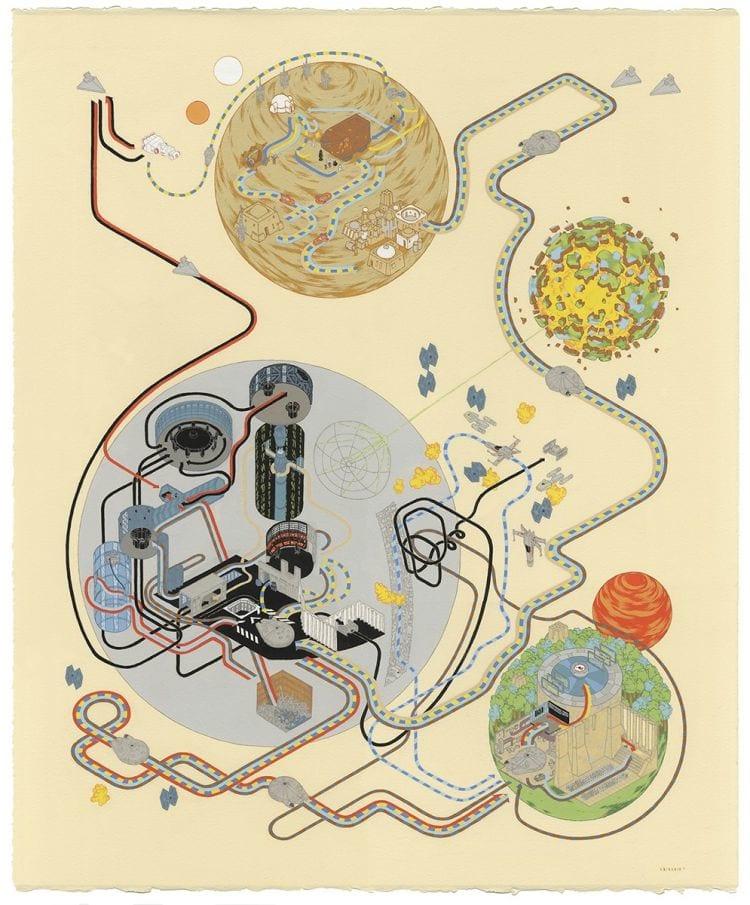Confira as ilustrações criadas por um artista sobre filmes icônicos