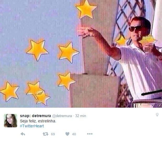 Troca de estrelinhas por coração não agrada todos usuários do Twitter