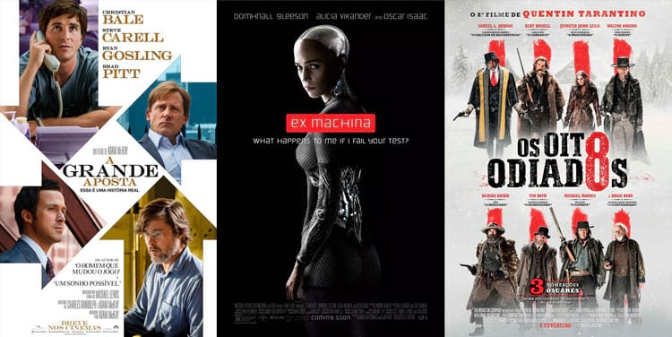 filmes ganhadores do oscar 2019