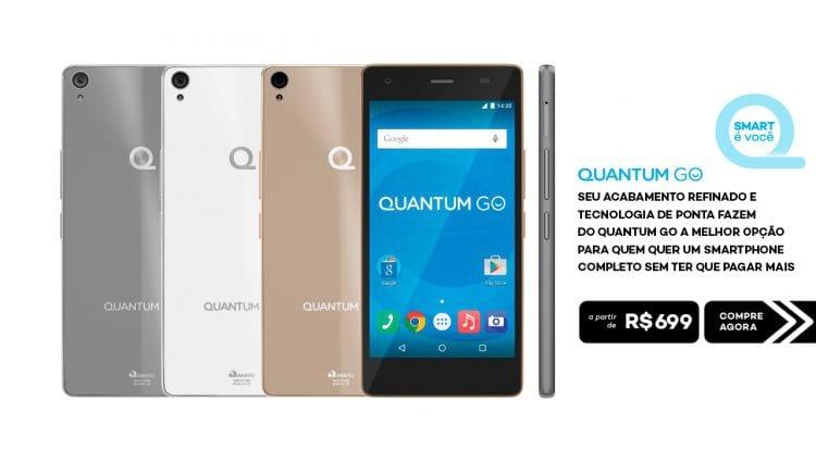 Quantum GO agora pode ser comprado em grandes sites do comércio eletrônico